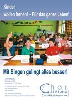"""Chorstiftung, Anzeige """" 5. Klasse"""", 1/1 Seite"""
