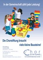 """Chorstiftung, Anzeige """"Kindergarten"""", 1/1 Seite"""