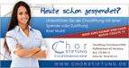 """Chorstiftung, Anzeige """"Spenden 1"""", 1/3 Seite"""